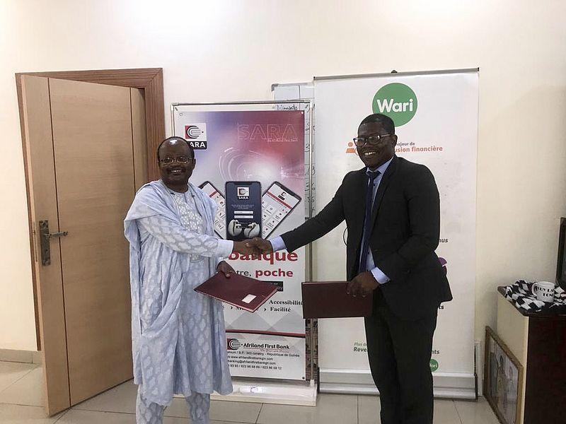 Partnership Wari-Afriland